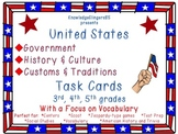 U.S. Government, History, Culture, Customs, Traditions-Tas