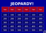 US Government Jeopardy