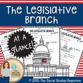 U.S. Government Legislative Branch at a Glance Worksheet