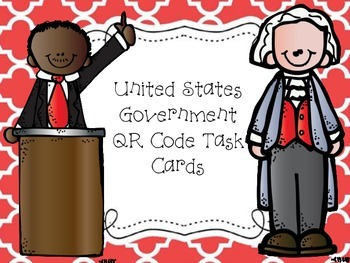 US Government QR Code Task Cards
