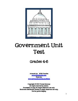 US Government Unit Test