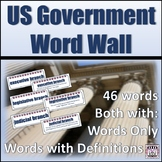 US Government Word Wall