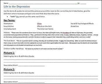 U.S. Great Depression Photo Analysis