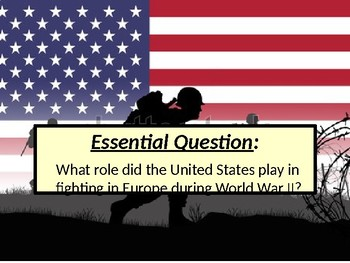US HIS UNIT 11 LESSON 5 Fighting World War II in Europe POWERPOINT