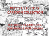 US HISTORY CARTOON COLLECTION: GREAT STUDY GUIDE!