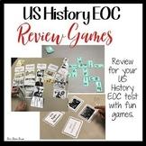 US HISTORY EOC  REVIEW GAMES Bundle