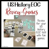 US HISTORY EOC STAAR REVIEW GAMES