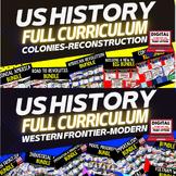 US HISTORY MEGA BUNDLE (American History Mega Bundle), Early and Modern