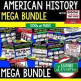 US HISTORY MEGA BUNDLE (American History Mega Bundle), Full Curriculum