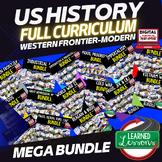 US HISTORY MEGA BUNDLE (American History Mega Bundle), Full Curriculum