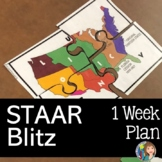 US HISTORY STAAR BLITZ ONE WEEK THEMATIC PLAN