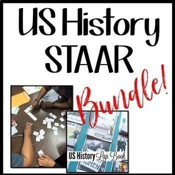 US HISTORY STAAR REVIEW BUNDLE