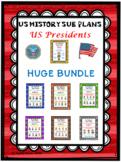 Distance Learning US HISTORY SUB PLANS (US Presidents) Hug
