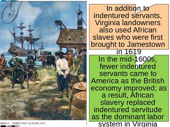 U.S. HISTORY UNIT 1 LESSON 2: The British Colonies in America POWERPOINT