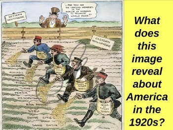 U.S. HISTORY UNIT 10 LESSON 1: 1920s America: Return To Normalcy POWERPOINT