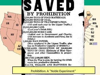 U.S. HISTORY UNIT 10 LESSON 2: The Roaring Twenties POWERPOINT