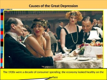U.S. HISTORY UNIT 10 LESSON 3: The Great Depression POWERPOINT