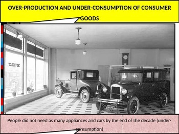US HIS UNIT 10 LESSON 3: The Great Depression POWERPOINT
