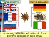 US HIS UNIT 9 LESSON 2: The Outbreak of World War I POWERPOINT