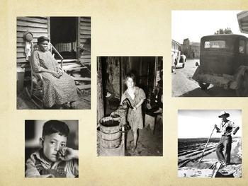 US Hist SC 6.3 Common Core Ready - Great Depression/Stock Market Crash/Dust Bowl