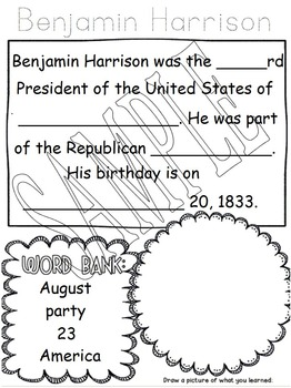 US Historical Figure - Benjamin Harrison