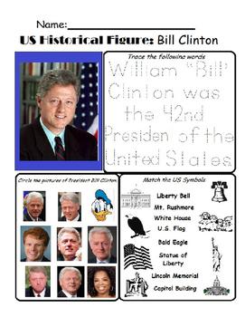 US Historical Figure - Bill Clinton