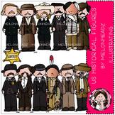 US Historical figures clip art - by Melonheadz