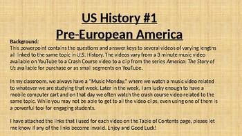 US History #1 Video clips - Pre-European America