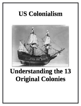 US History 13 Original Colonies Group Activity