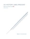 US History 1865-Present Major Events Review EOC STAAR Prep