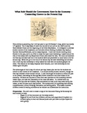 US History - 1920's and 1930's - Government Role in Econom