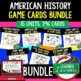 US History 1950s JFK & LBJ 28 I Have, Who Has Game Cards