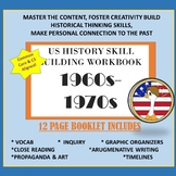 US History 1960s-70s Skill Building Workbook