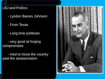US History 1960s LBJ and the Great Society