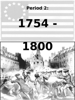 US History #2 - #6: Free Note Packet