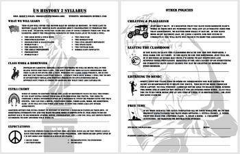 US History 2 Syllabus