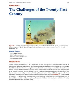 US History - 32 - Challenges of 21st Century
