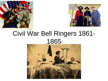 US History: 38 Civil War Bell Ringers or Warm Ups