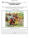 US History 8th Unit 01 European Exploration Activities Maps Primary Source, etc