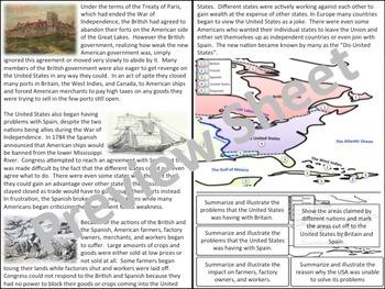 Problems with Britain & Spain U.S. History - Homework