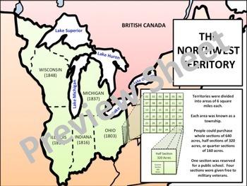 U.S. History - A New Nation - The Land & Northwest Ordinances