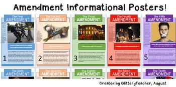 US History Amendment Posters!