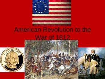 U.S. History - American Revolution to 1815
