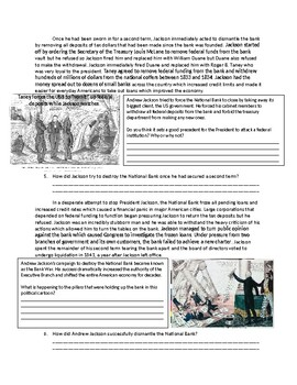 US History: Andrew Jackson vs. The National Bank