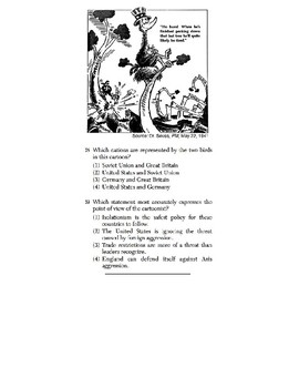 U.S. History - 11th Grade - Skills Quiz - Primary Source Images (3/6)
