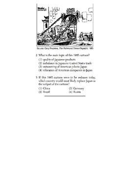 U.S. History - 11th Grade - Skills Quiz - Primary Source Images (5/6)
