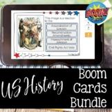 US History BOOM Card Bundle