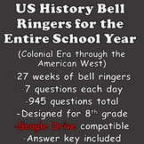 US History Bell Ringers (American History Daily Warmups)