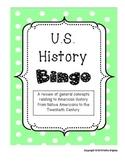 US History Bingo