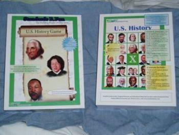U.S. History Bingo Game
